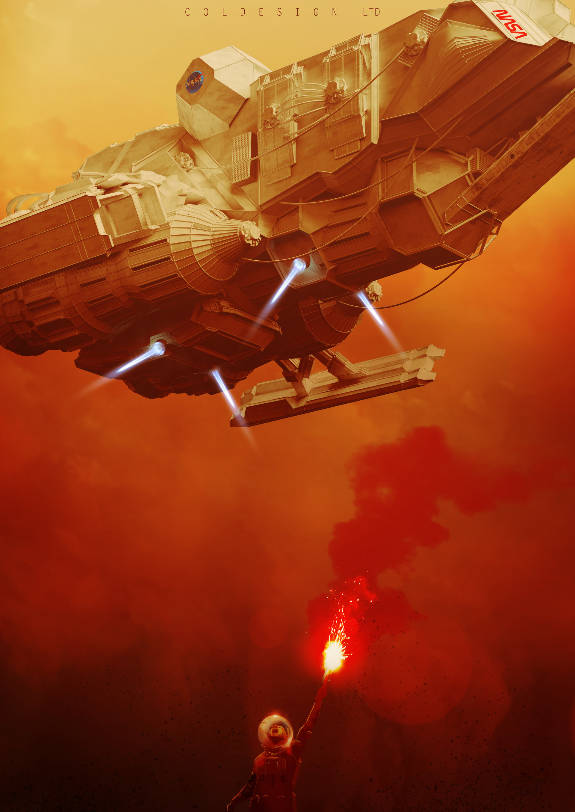 D And D Trailers >> The Science Fiction Art of Col Price | Sci-Fi Concept Artist