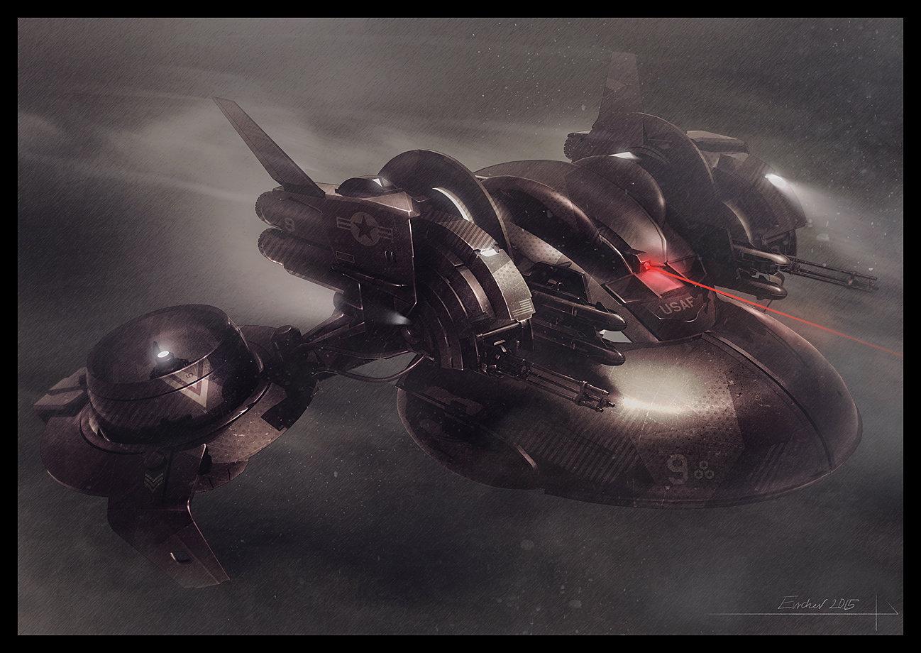 Futuristic Assassin Concept Art
