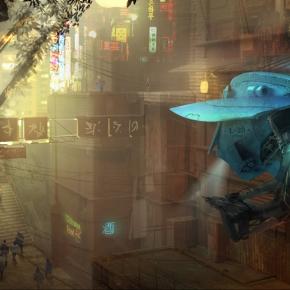 adam-kuczek-patrol-drone-science-fiction-concept-art