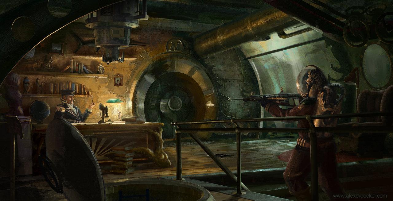 The Science Fiction Art Of Alex Broeckel Sci Fi Artist