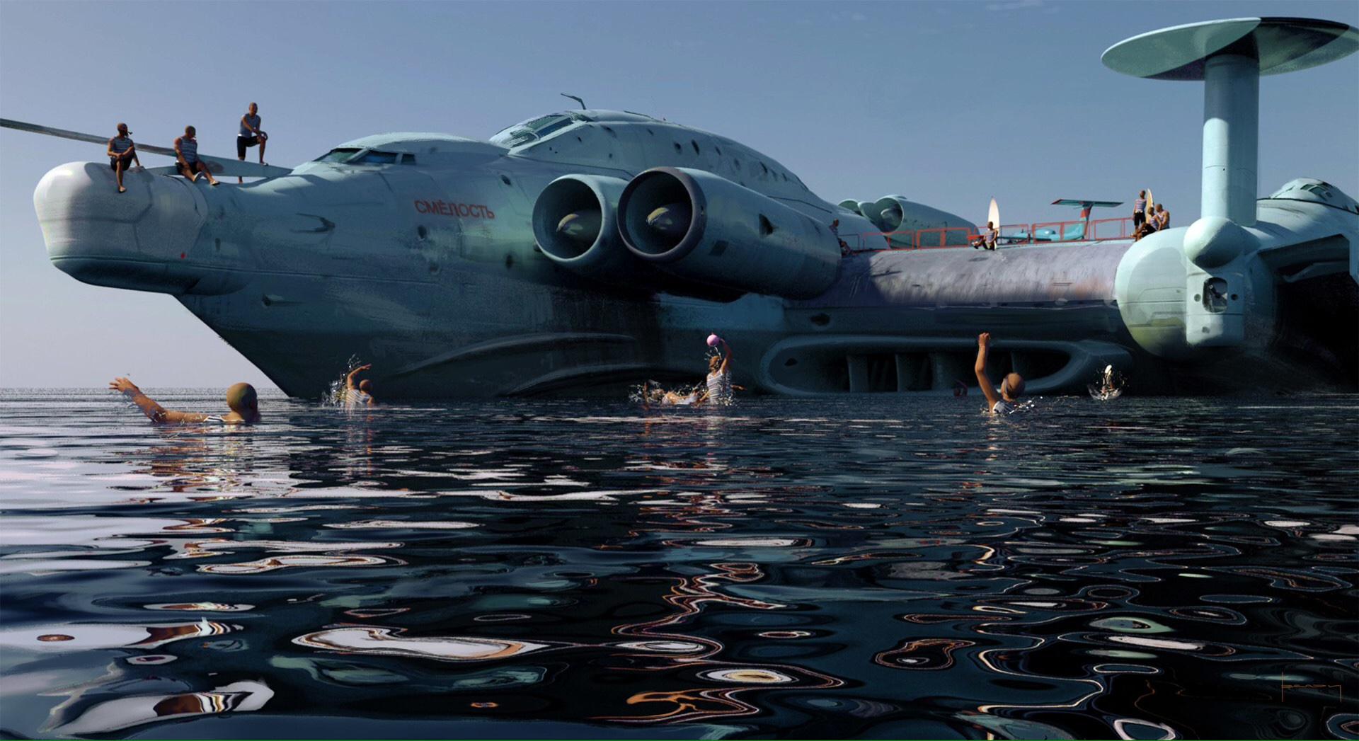 The Futuristic Concept Art Of Alex Jay Brady Sci Fi Artist
