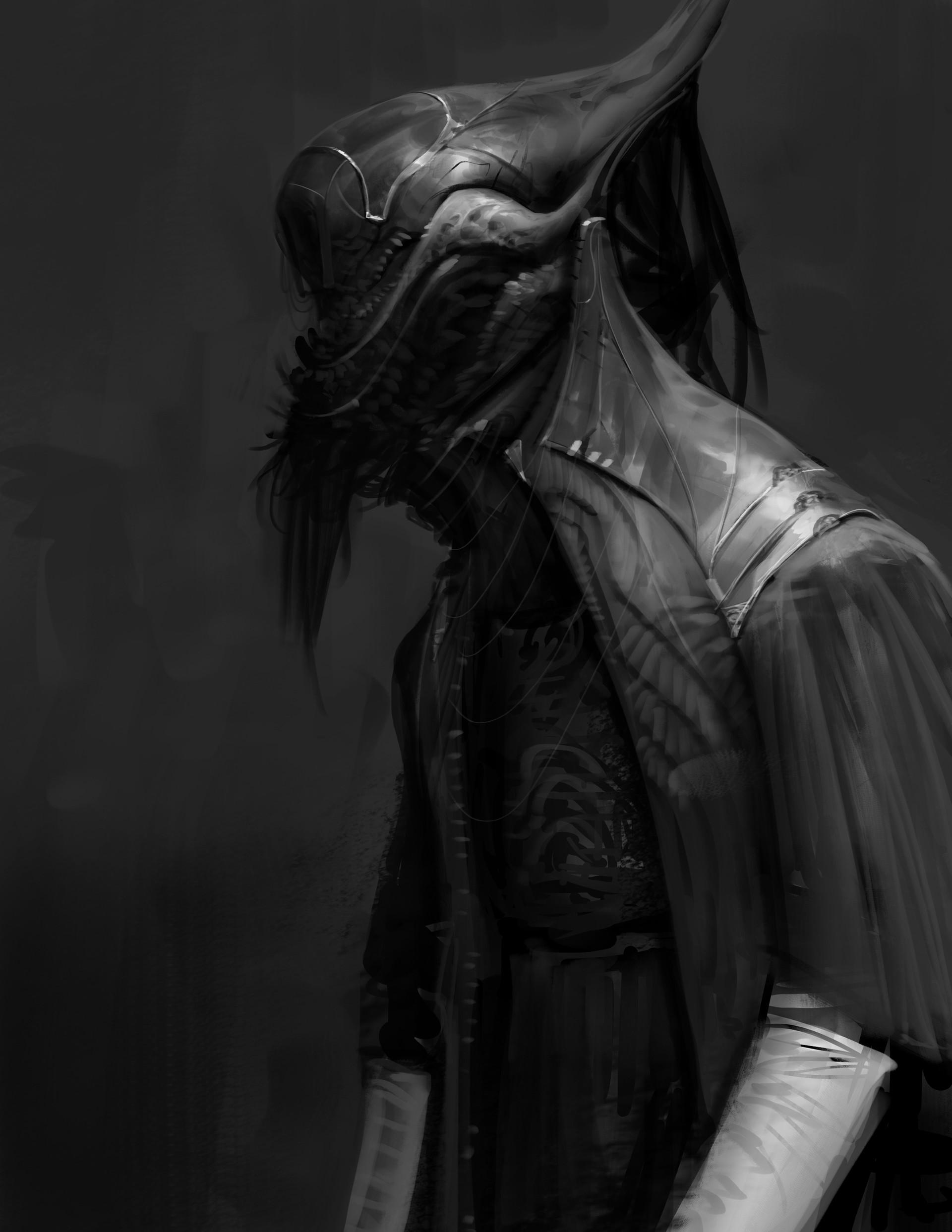The Dark Creature Creations Of Anthony Jones Digital Artist