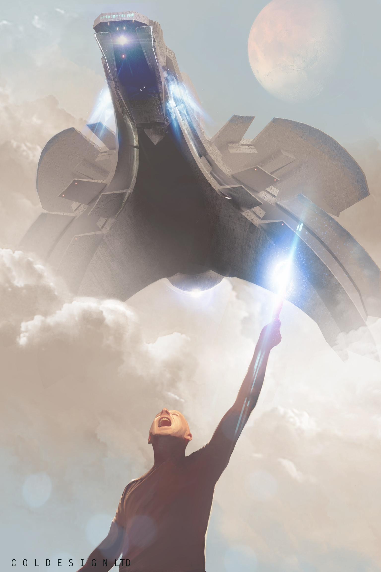 The Amazing Digital Sci-Fi Art of Col Price   Concept Artist