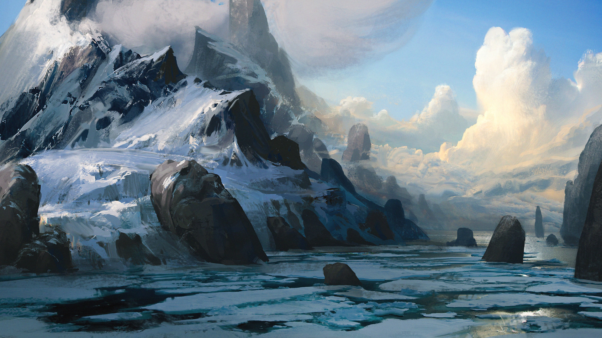 The Concept Artist Efflam Mercier Science Fiction Art