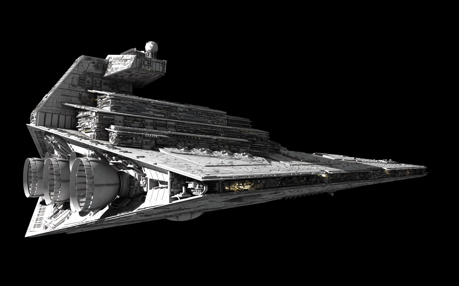 Star Wars Models by Fractalsponge | 3D Art of Ansel Hsiao