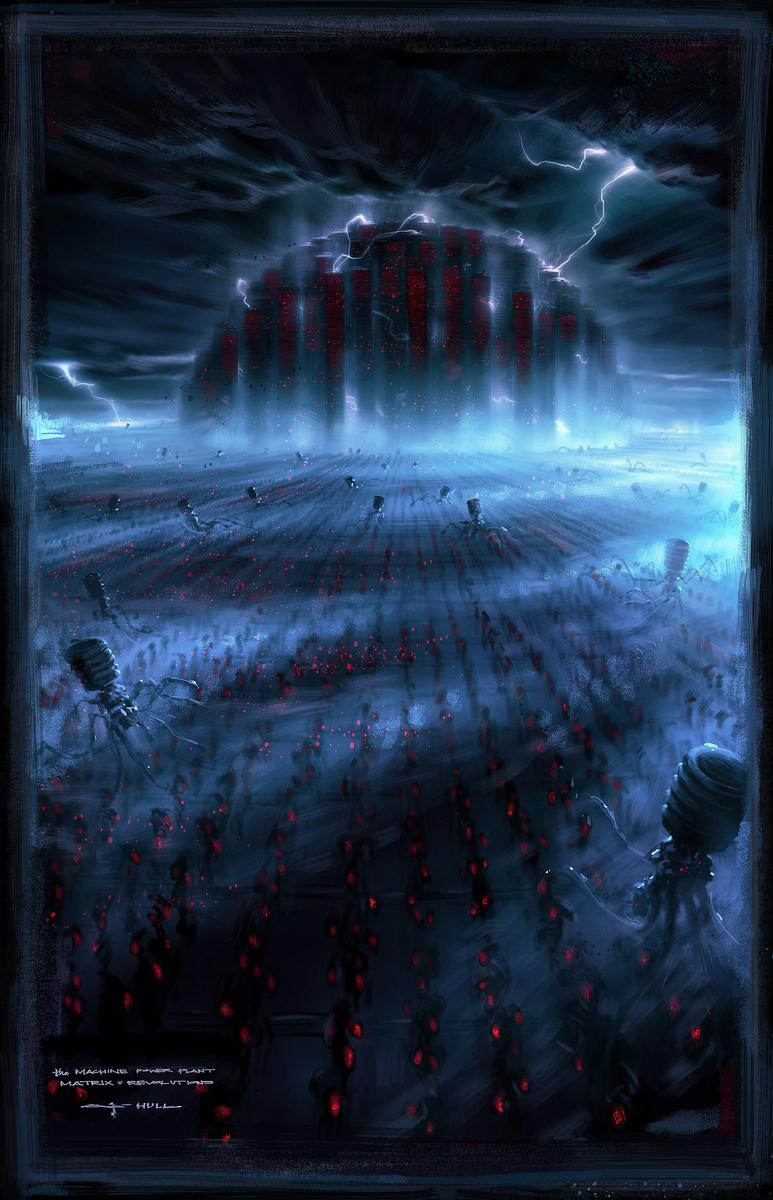 scifi movie concept artist george hull george hull