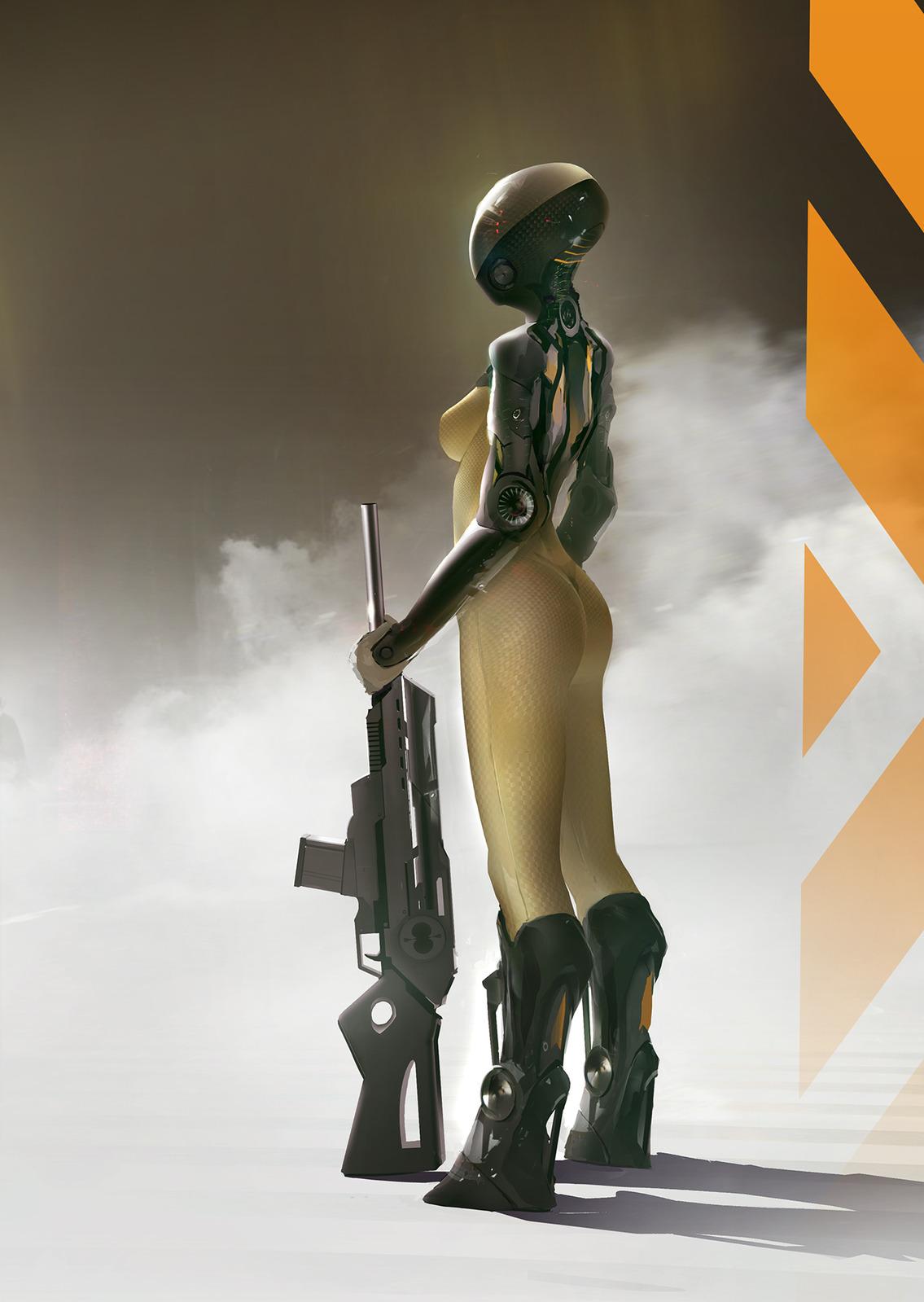 Nicolas Ferrand Sci-Fi Artist | Artwork by Video Game