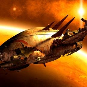 broken space ship - photo #10
