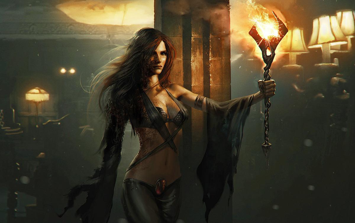 epic fantasy girls wallpapers - photo #9