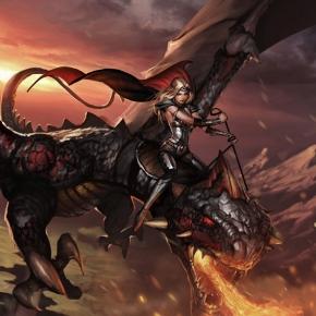 grzegorz-rutkowski-dark-dragon-sci-fi-art