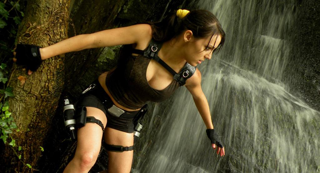 Sexy mortal kombat cosplayer slideshow - 1 part 7
