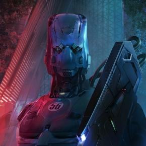 ioan-dumitrescu-sci-fi-art-police-enforcer