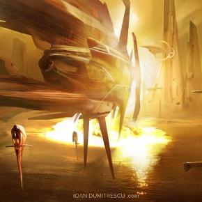 ioan-dumitrescu-sci-fi-art-space-opera