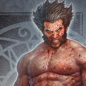 WOLVERINE Fan Art by kerembeyit rev3 blood shower