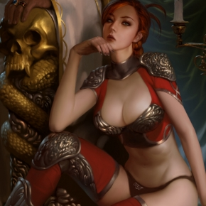 The Fantasy Art of Lius Lasahido