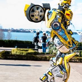 transformer-cosplay