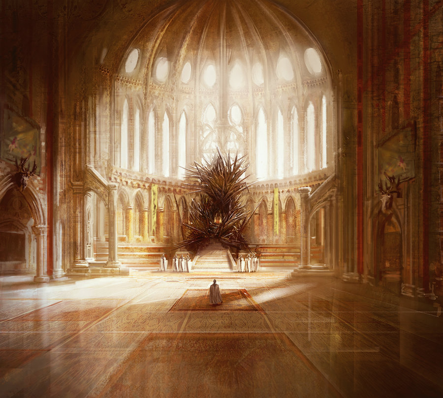 Marc simonetti fantasy paintings fantasy illustrator for Iron throne painting