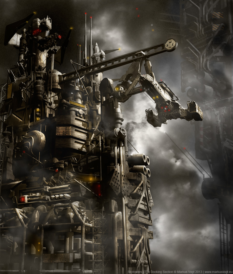 The Digital Sci-Fi Art of Markus Vogt - This Is Cool