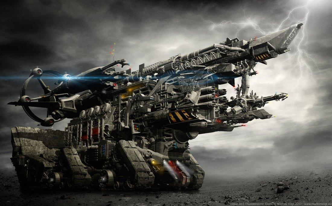 Sci-fi Digital Art by Lucas Kuta   Art and Design