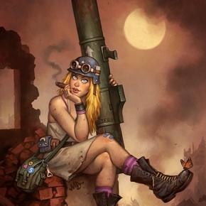 matt-dixon-sci-fi-fantasy-paintings