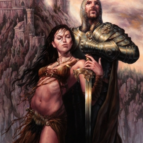 arthur-and-morgana-by-michael-c-hayes