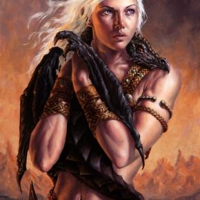 daenerys-targaryen-by-michael-c-hayes
