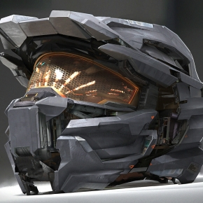 the-scifi-art-of-mike-hill-chief-helmet