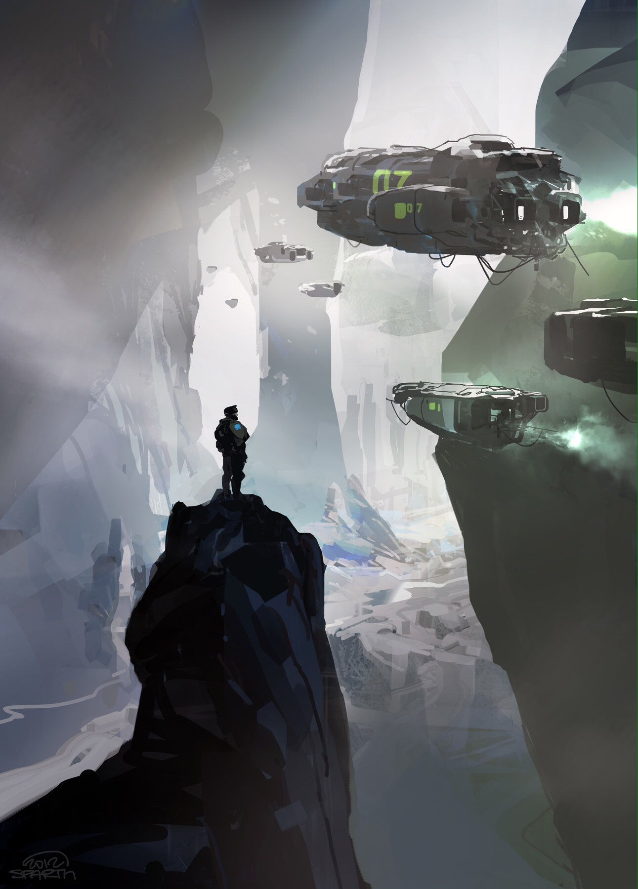 Sparth: The Astonishing Sci-Fi Works Of Sparth