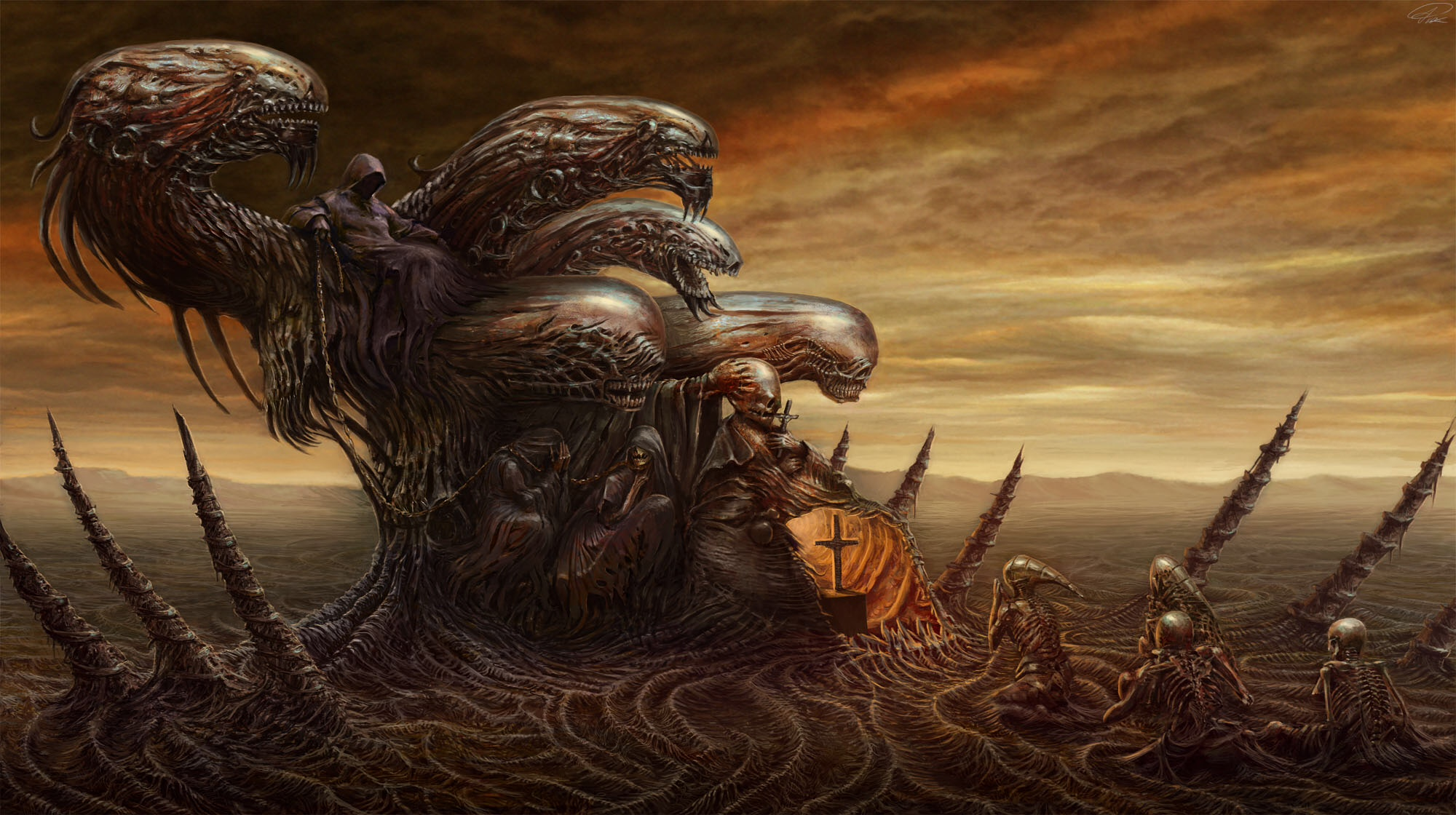 The fantasy art of piotr ruszkowski fantasy artist for The art of painting