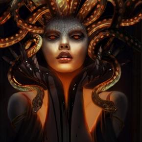rob-shields-fantasy-medusa-illustrator