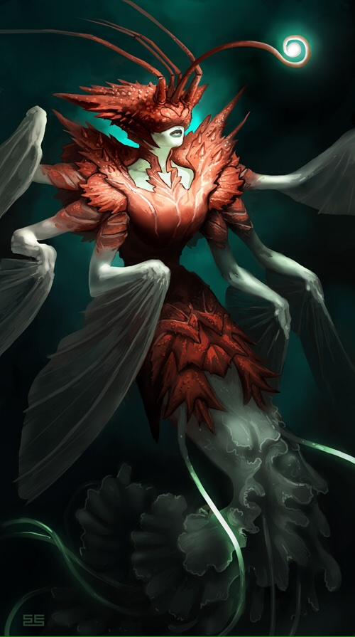 the fantasy ilustrations of simon eckert digital artist