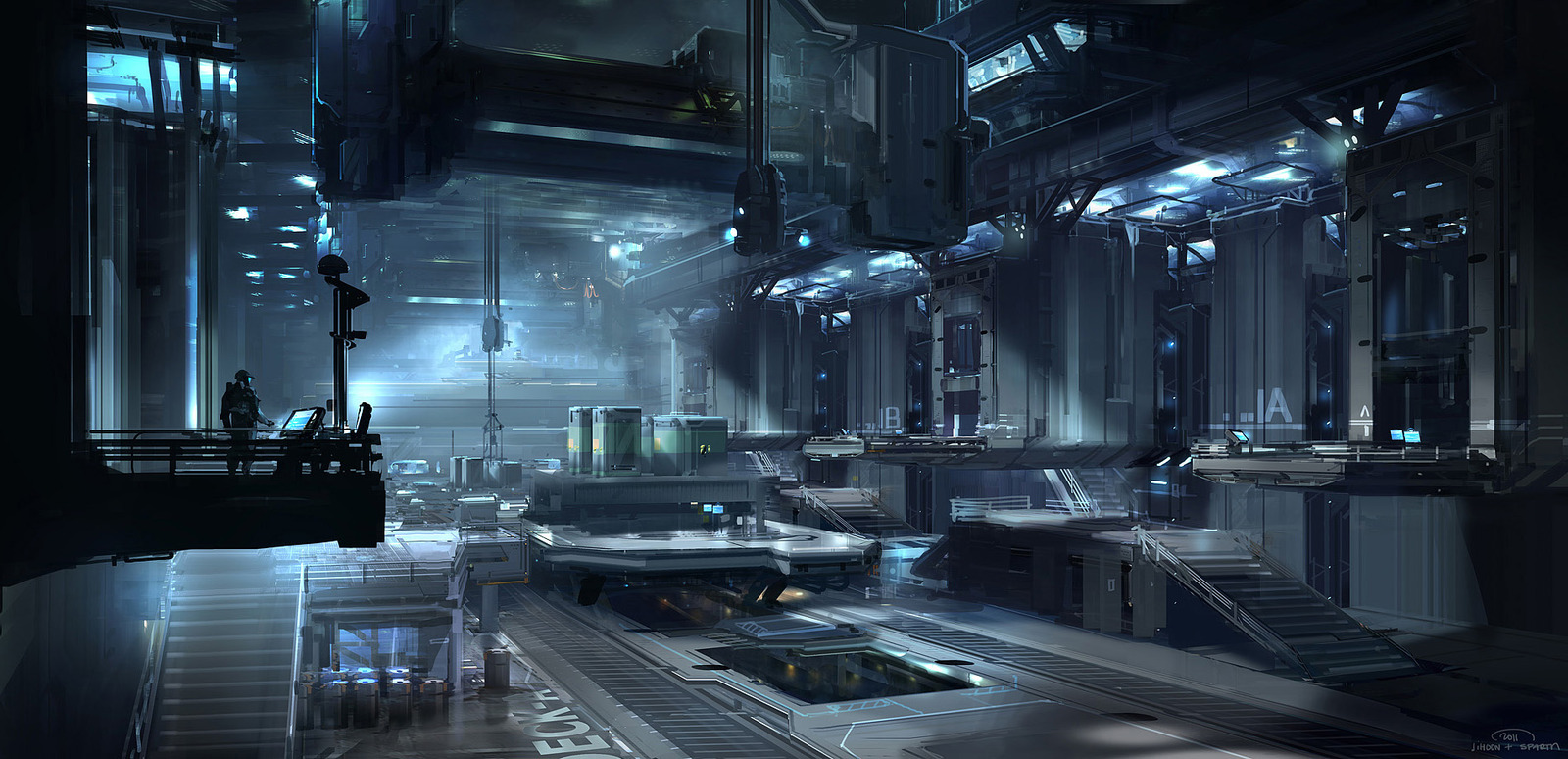 Sparth sci fi concept artist the amazing artwork of for Ghost room milano