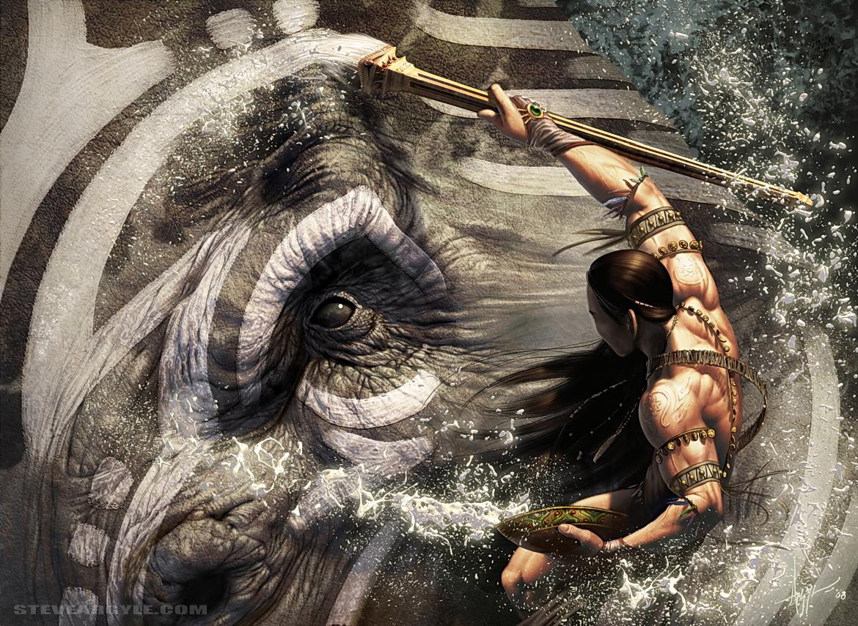 Steve Argyle Fantasy Artist Steve Argyle Digital Fantasy Art