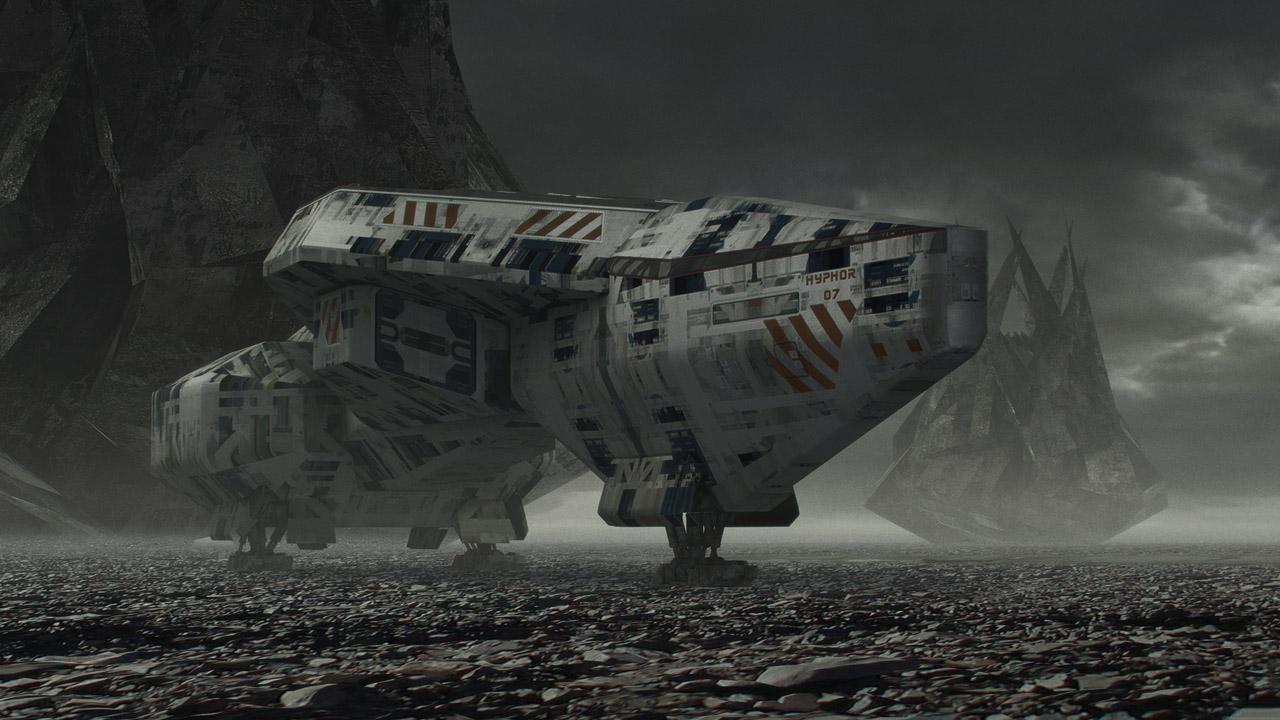 Steve Burg Concept Artist | The Sci-Fi Art of Steve Burg