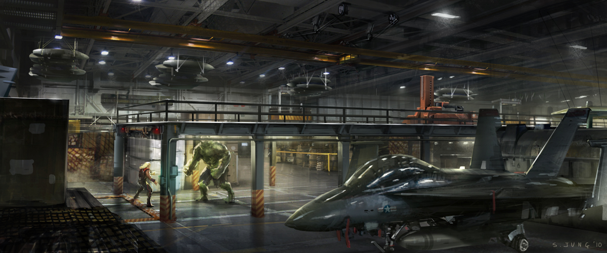 Sci Fi Concept Art Of Steve Jung Steve Jung Concept Artist