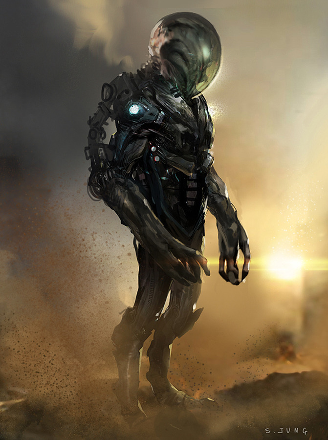 Sci-Fi Concept Art of Steve Jung | Steve Jung Concept Artist