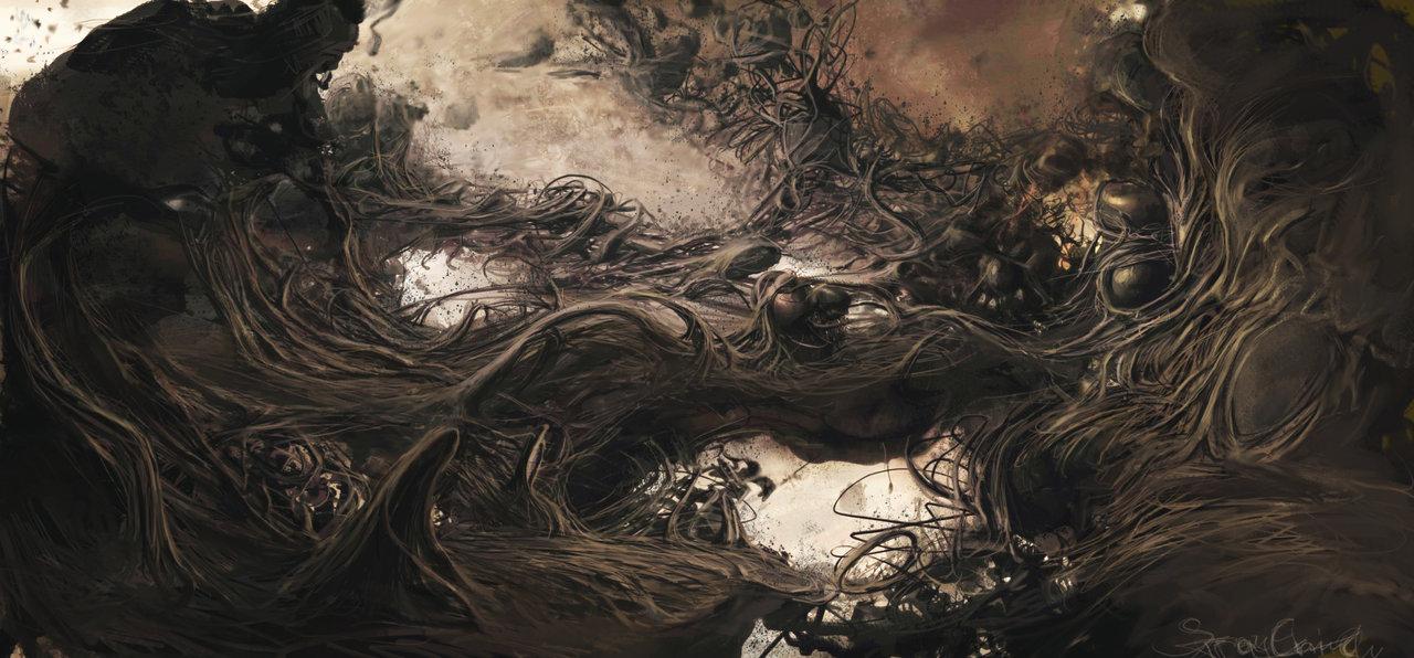 Image of: Dark Souls Straychilddarkpaintings32 Etsy The Dark Artworks Of Stray Child The Art Of Artist Stray Child
