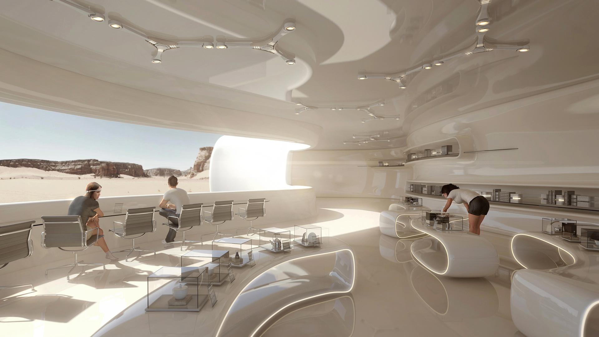 Tarik Keskin Digital Sci-Fi Artist | 3D Sci-Fi Architect ...