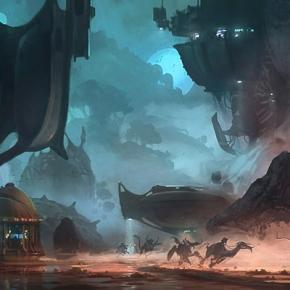 thom-tenery-sci-fi-illustrator