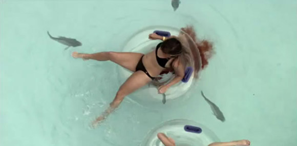Not a good day for swimming - Piranha 3dd 2012