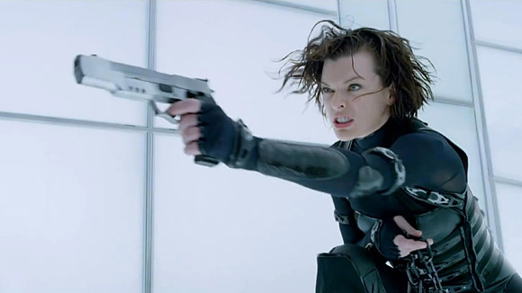 Milla Jovovich Back In Action 2012