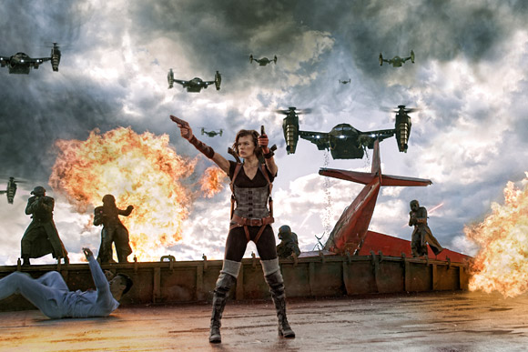 Resident Evil 6 Retribution 2012