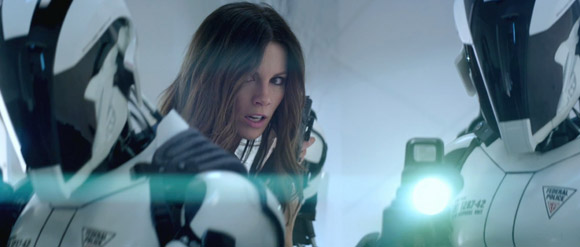 The lovely Kate Beckinsale - Total Recall 2012 Trailer