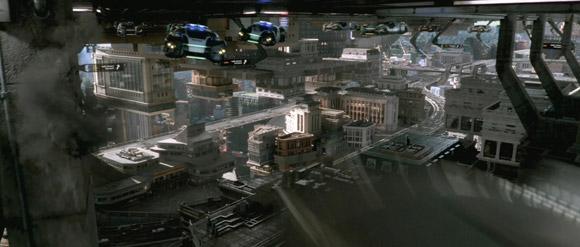 A very impressive futuristic earth in the lastest Total Recall Trailer