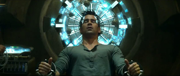 Colin Farrell Total Recall Remake 2012