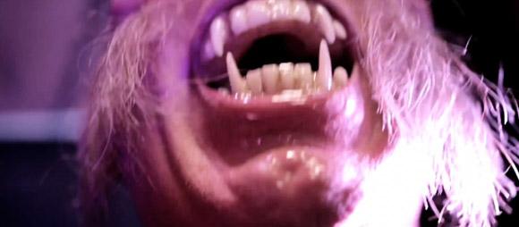 Grrr! - Scarey Werewolf makeup 2012