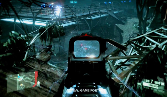 Actual Gameplay Footage Crysis 3