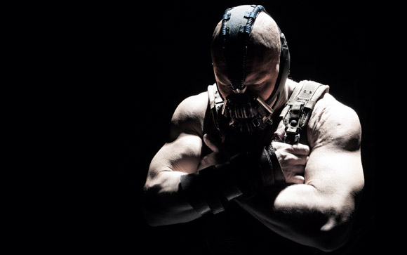 Tom Hardy as Bane - Dark Knight Rises 2012