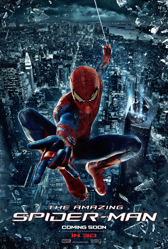 The Amazing Spider Man Theatrical Poster 2012
