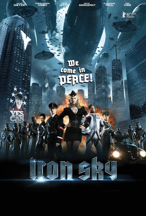 Iron Sky 2012 Movie Poster